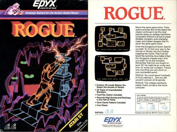 Rogue - para Atari ST