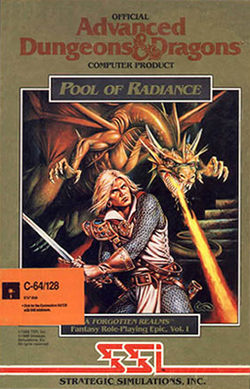 Pool of Radiance - Box