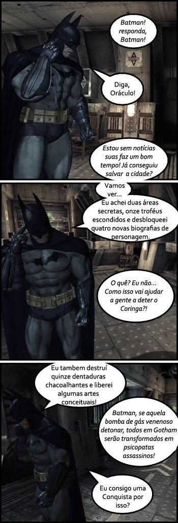 Batman - Prioridades