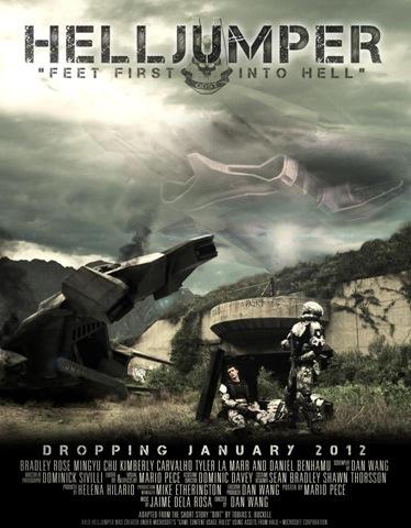 Halo - Helljumper Poster