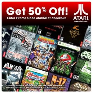Promoção Atari