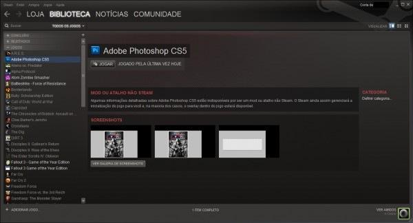 Photoshop no Steam