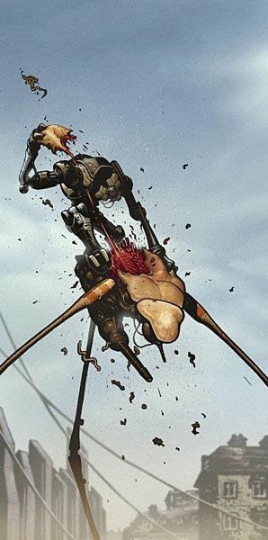 Arte de Stenbeck para Half-Life 2