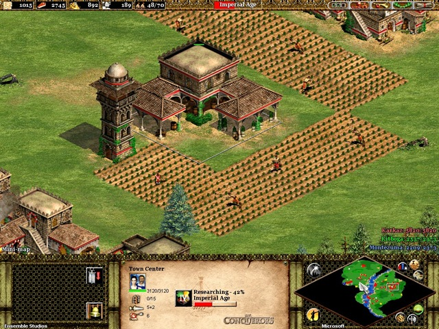 Age of Empires II - Tela 02