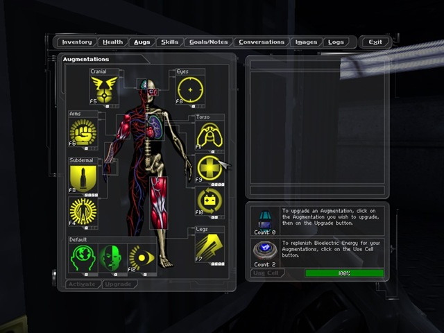 Deus Ex - Augmentations