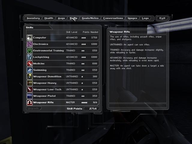 Deus Ex - Skills