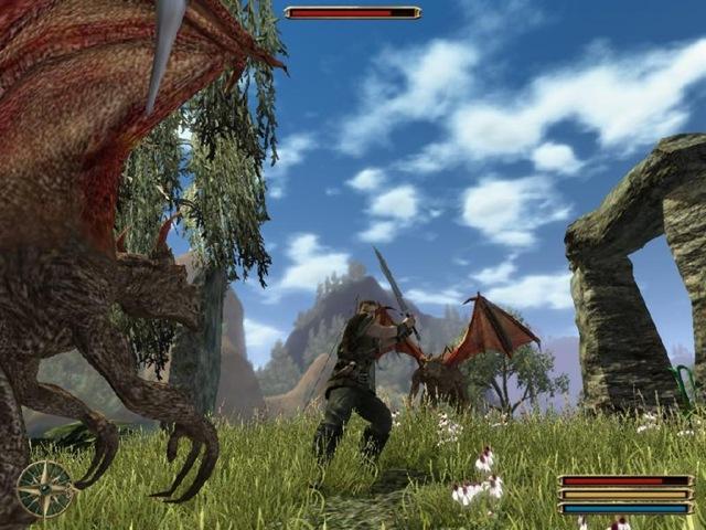 Gothic 3 - Gargoyles