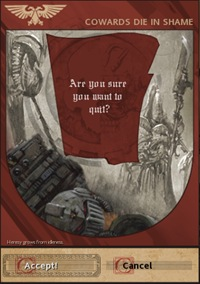 Dawn of War - Quit