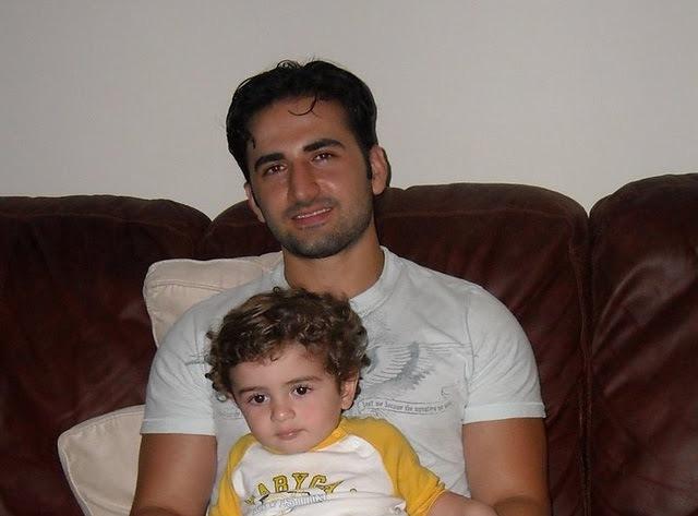 Amir e sobrinha.