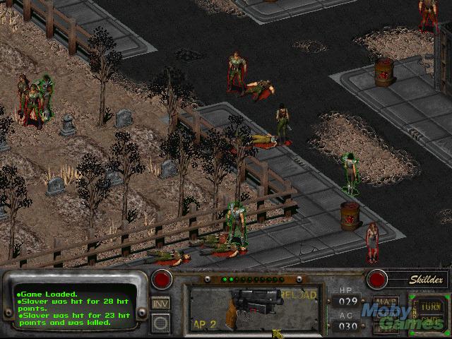 Fallout 2 - Tiroteio