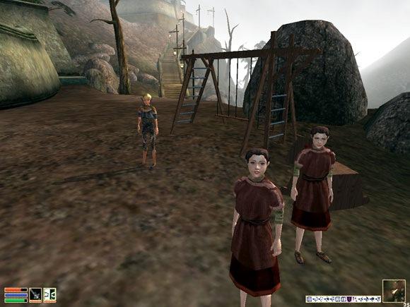 Morrowind - Crianças? Só via mod.