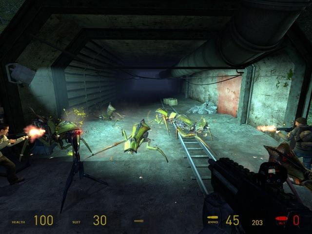 Half-Life 2 - Eles estão saindo das paredes!