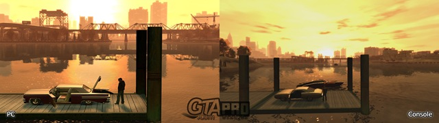 GTA IV - PC vs Xbox360