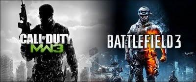Call Of Duty Modern Warfare 3 Versus Battlefield 3