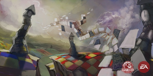 Alice - Arte Conceitual