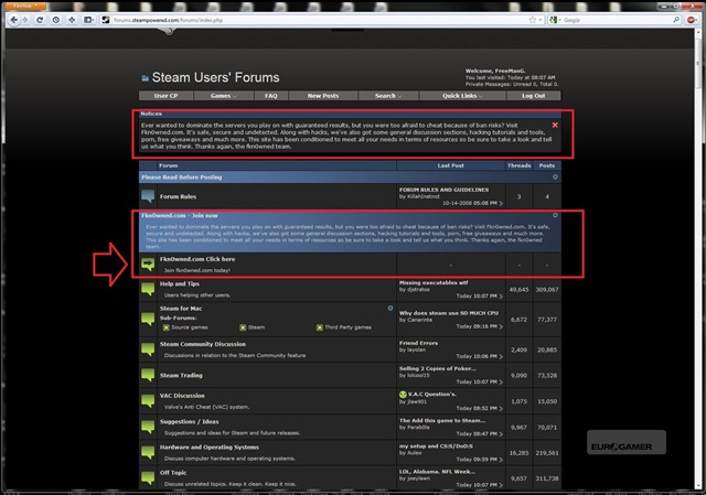 steam-forum