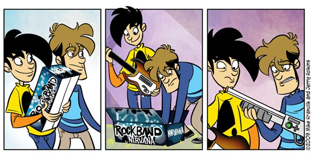 Rock Band - Nirvana