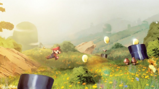 Mario World (by Orioto)