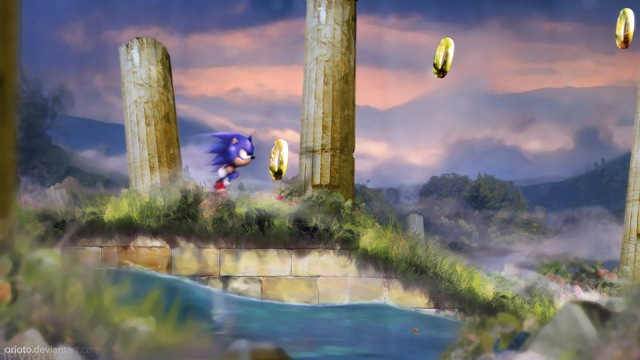 Sonic - Aquatic Run (by Orioto)