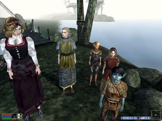Mod Morrowind Kids - Colocaram Crianças no Jogo!