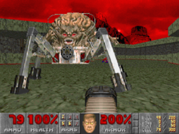 Spider Mastermind -do jogo  Doom