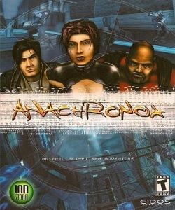 Anachronox - Capa