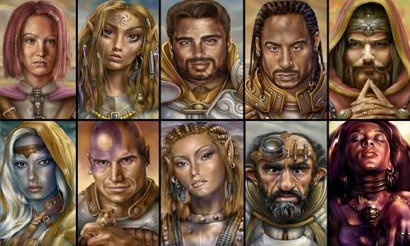 Baldur's Gate 2 - Retratos