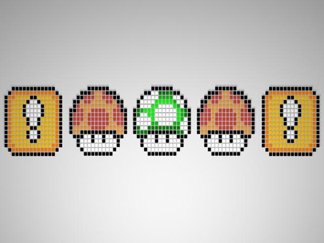 Mario - Mushrooms