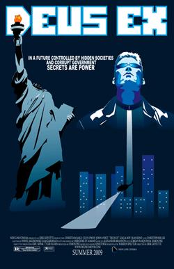 Deus Ex - Fake Poster