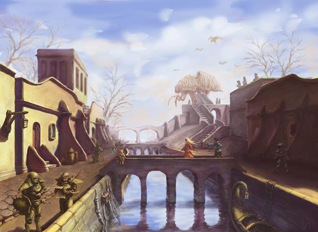 Morrowind - Balmora (by Saito00)