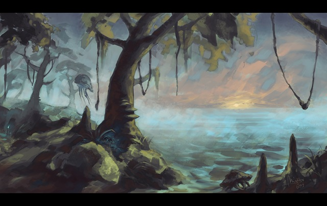 Morrowind - Bitter Coast (by TheMinttu)
