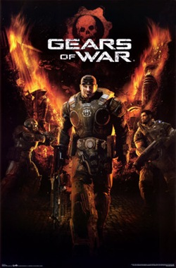 Gears of Wars - Poster
