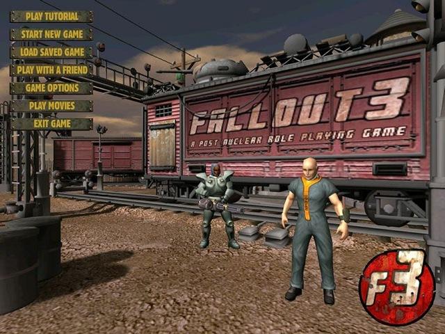 Fallout 3 (Van Buren) - Menu