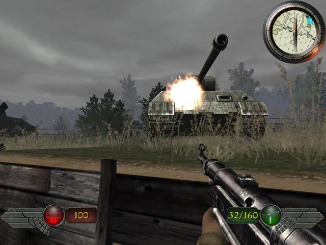 Mortyr 2 - German Tank