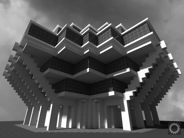 Brutalist - Minecraft