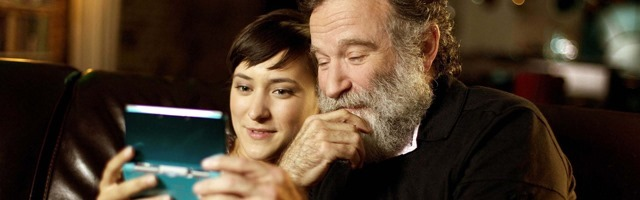 Zelda e Robin Williams