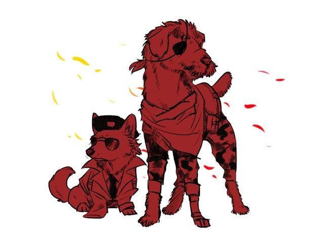 Metal Dog Solid 04