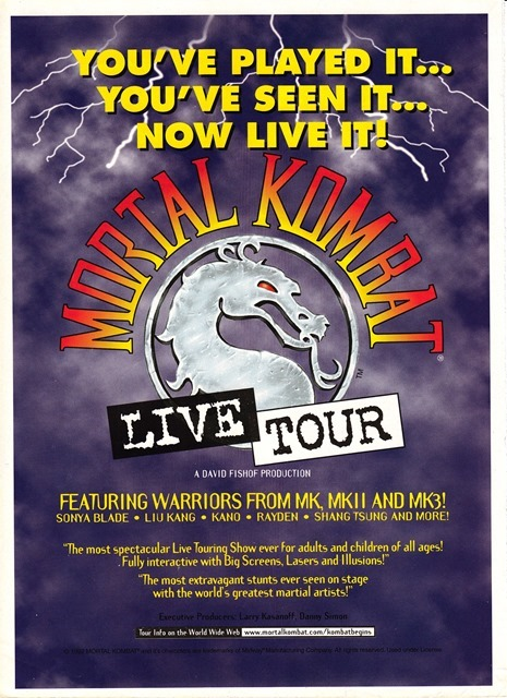 Mortal Kombat Live Tour