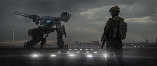 Metal Gear Solid Movie - Concept Art 02