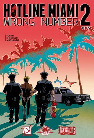 Hotline Miami 2 - Comics