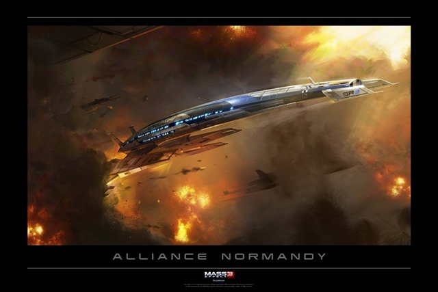 Normandy Digital Lithograph
