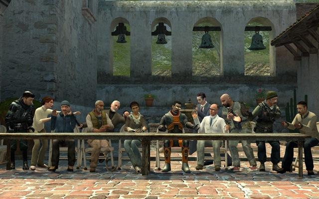 Santa Ceia - Half-Life