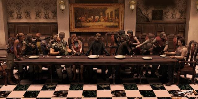 Santa Ceia - Resident Evil
