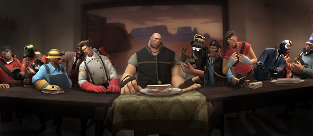 Santa Ceia - Team Fortress 2