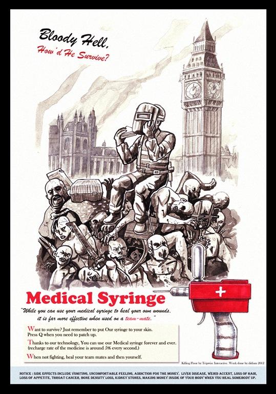 KF - Medical Syringe