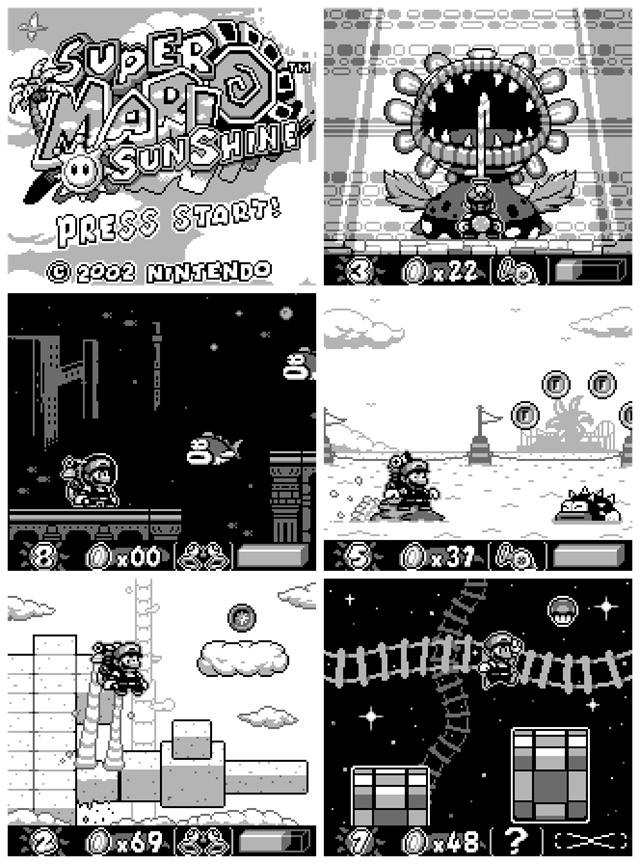 super-mario-sunshine-demake