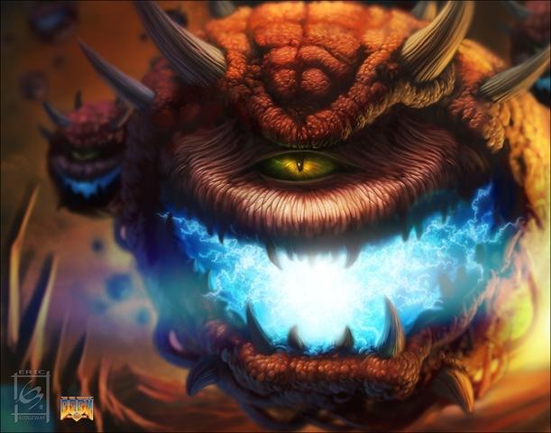 Cacodemon-Doom-Art-Tribute