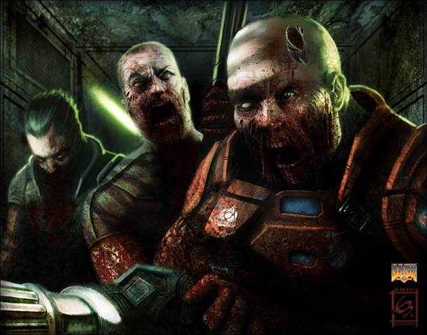 Zombie-Soldiers-Doom-Art-Tribute