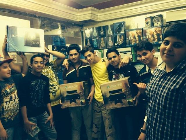 Jogadores iraquianos