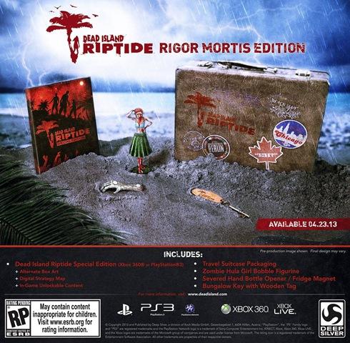Dead Island Riptide - Rigor Mortis Edition